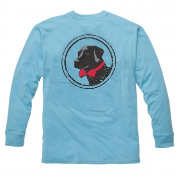 Original Tee Retro Blue Long Sleeve